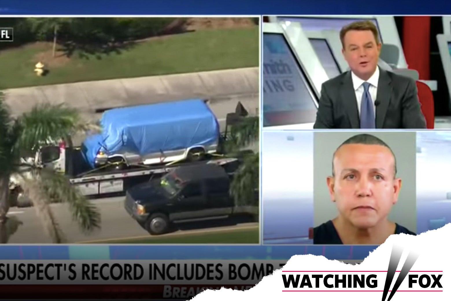 Fox News coverage of Cesar Sayoc.