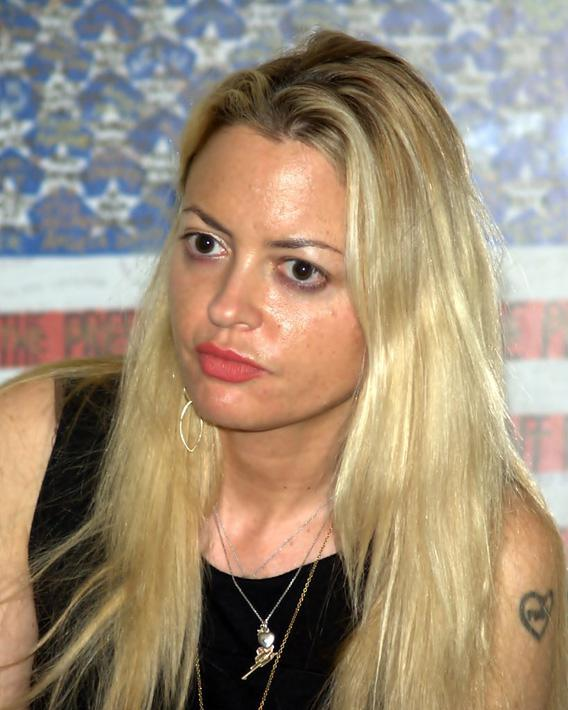 Elizabeth Wurtzel at the Brooklyn Book Festival in 2010.