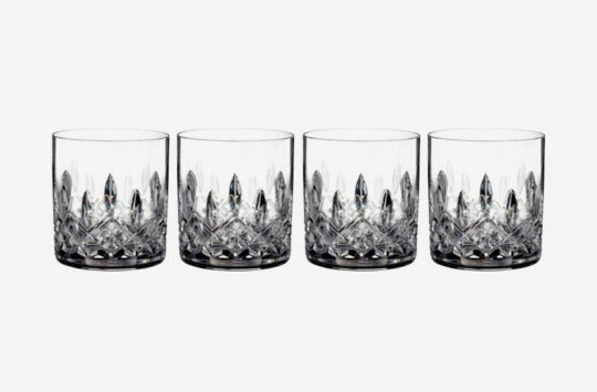 Waterford 'Lismore' Lead Crystal Straight Sided Tumblers.