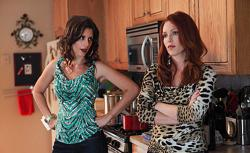 Jessica Blank and Erin Cummings in 'Made in Vegas.'