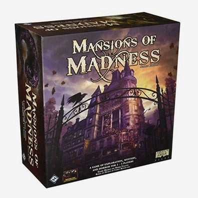 Mansions of Madness game