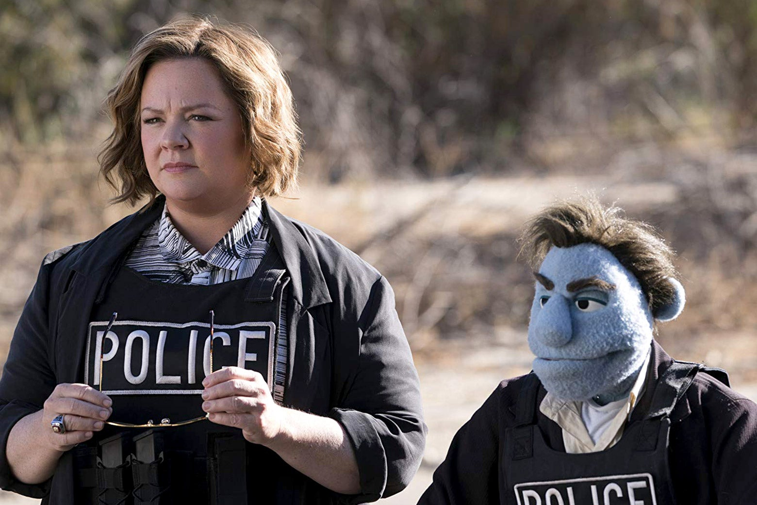 Melissa McCarthy in <em>The Happytime Murders</em>.