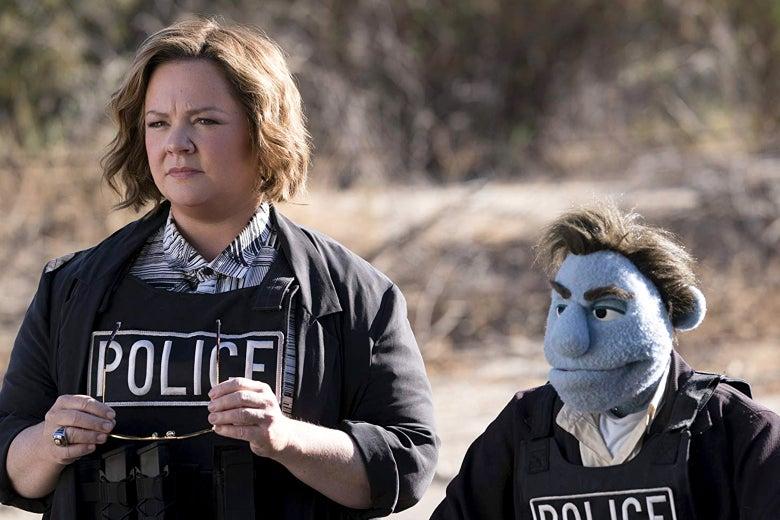 Melissa McCarthy in <em>The Happytime Murders</em>.