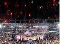 Fireworks at the DNC in Denver. Click image to expand.