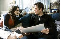 Rachel Weisz pulls Hugh Grant to the mainland
