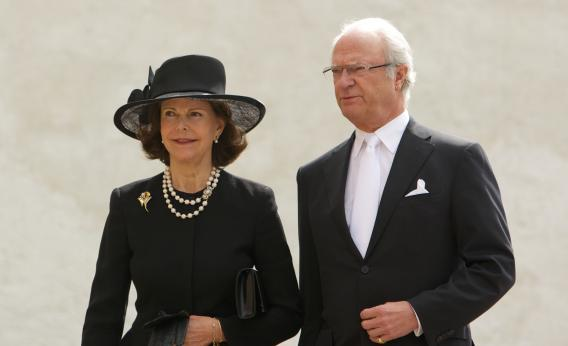 Queen Silvia of Sweden and King Carl XVI Gustaf of Sweden