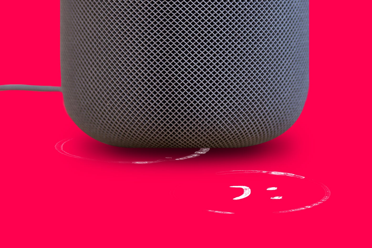 Apple HomePod speakers are leaving marks on some surfaces.