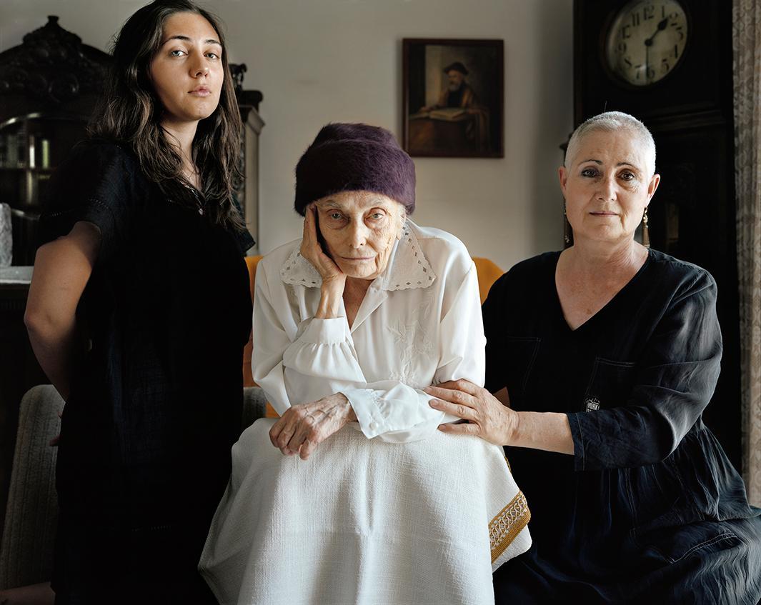 Ruth Chaya Leonov-Carmely, Nechama Weitman, Pnina Leonov, 2010