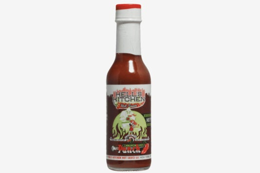 Hell's Kitchen Cinnamon Ghost Punch sauce.