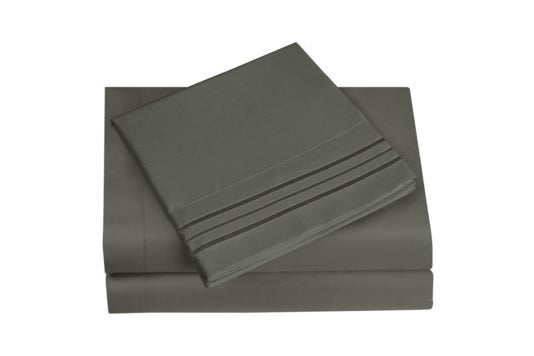Gray HC Collection sheet set.