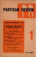Partisan Review, January-Febraury 1941