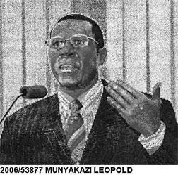 "Leopold Munyakazi as pictured on  Interpol ""wanted"" page."