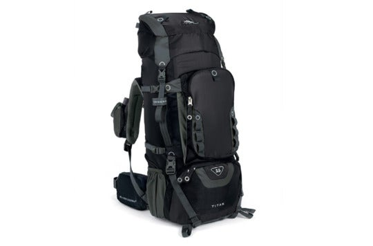 Black High Sierra Titan backpack.