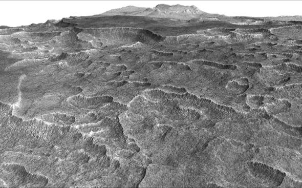 A (Frozen) Great Lake of Water Is Found Beneath the Surface of Mars