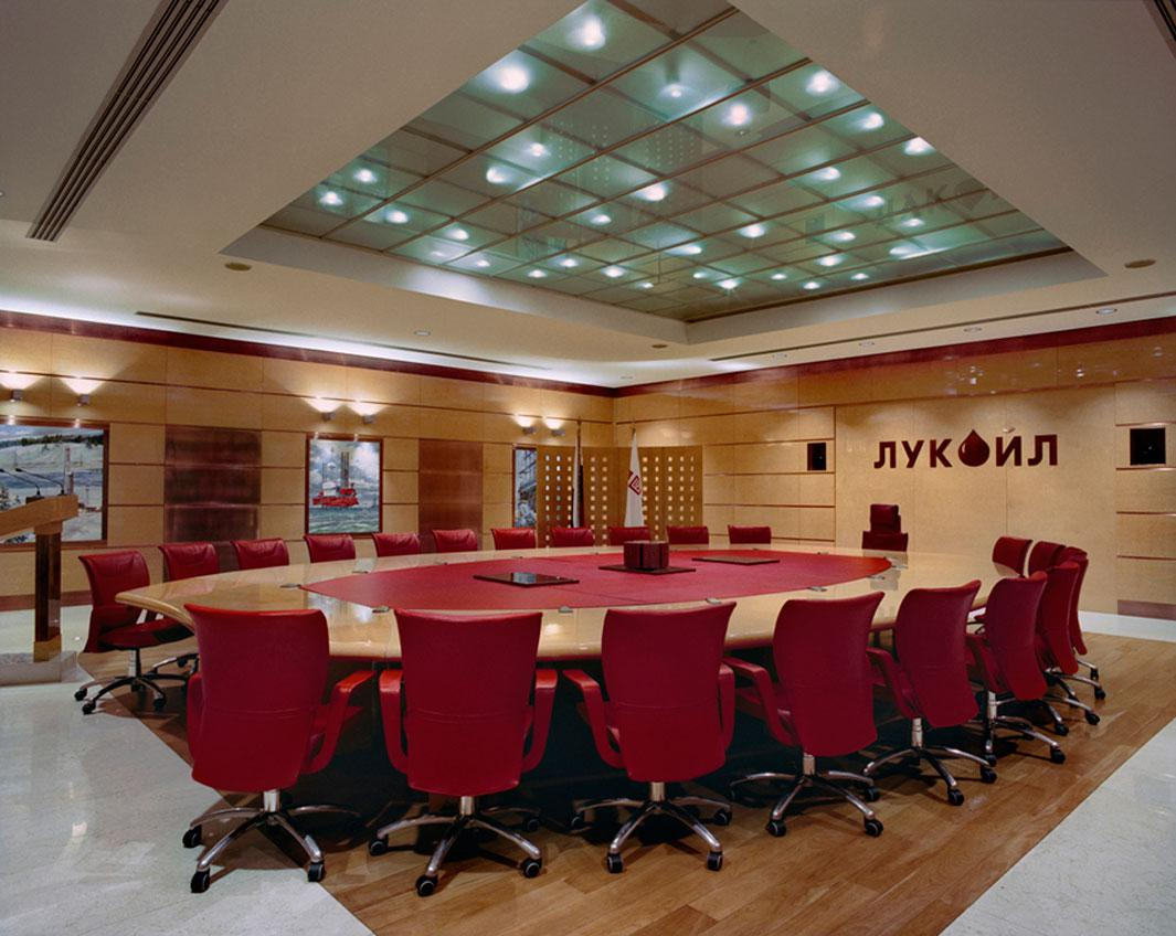 The meeting table of the Board of Directors of LUKOIL Moscow, Russia February 17, 2010