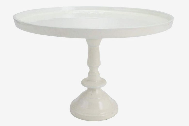 J.C. and Rollie Large Ivory Cake Stand