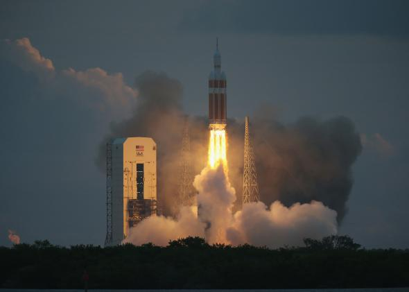 NASA Takes One Small Step Back Into Space
