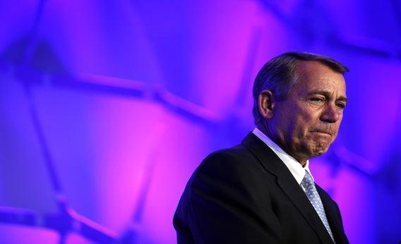 John Boehner addresses the National Association of Manufacturers, June 20, 2013, in Washington, D.C.