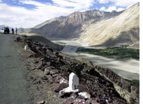 The army uses the Nubra region re-supply the Siachen Glacier battlefront