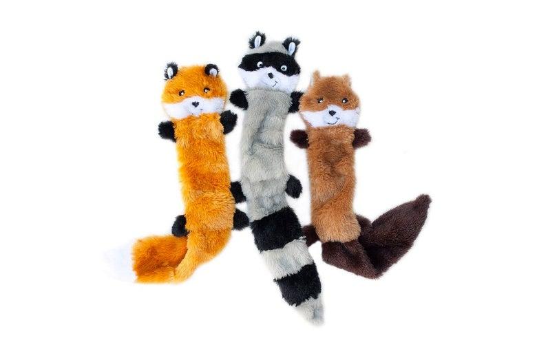 ZippyPaws Skinny Peltz No Stuffing Dog Toys
