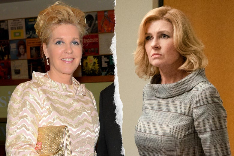 Beth Ailes, and Connie Britton as Beth Ailes.