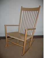 The author's Wegner rocking chair         Click image to expand.