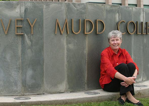 Harvey Mudd College President Maria Klawe.