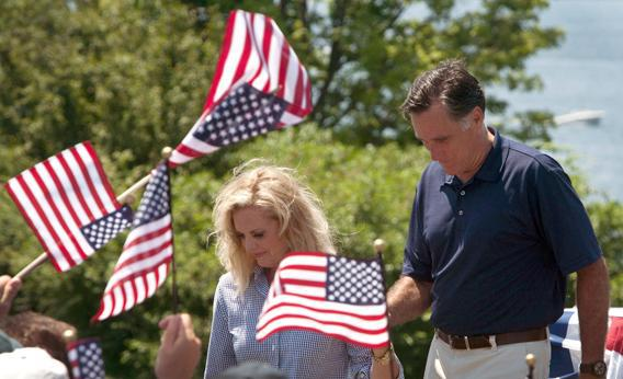 Romney on the 4th.