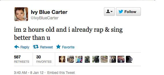 Ivey Blue Carter tweet