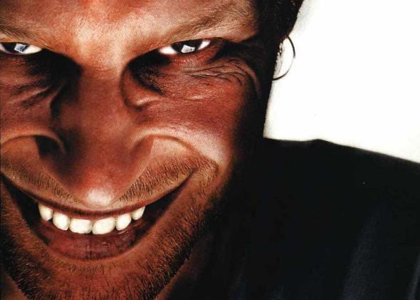 Richard James aka Aphex Twin on the cover of his 1996 Richard D. James Album