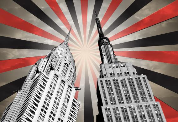 Chrystler Building versus Empire State Building
