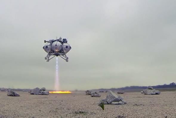 Morpheus lander