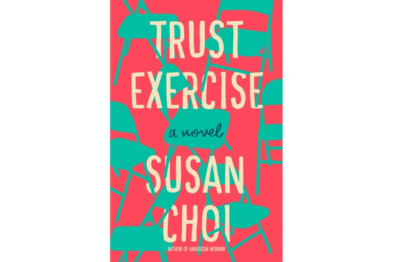 Trust Exercise book cover.
