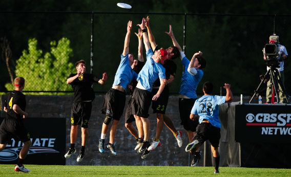 Men's Ultimate Frisbee.