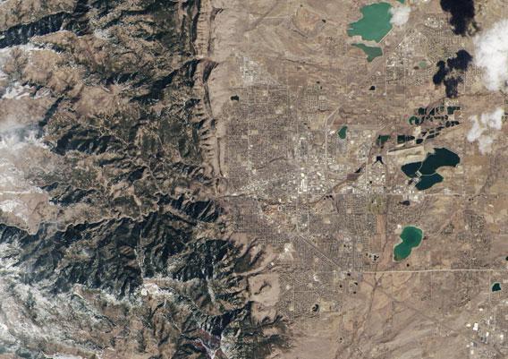 Boulder from Landsat