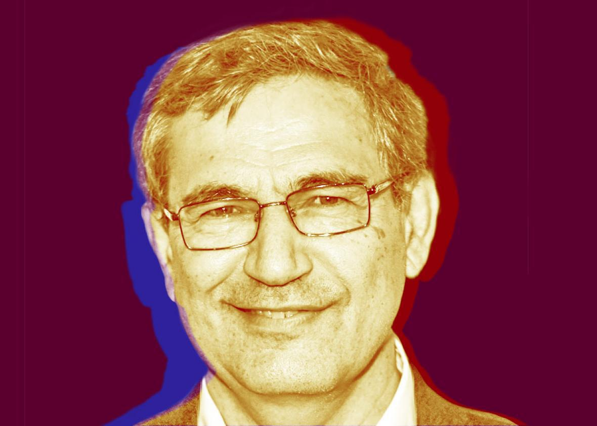 Turkish author and Nobel Prize in Literature Orhan Pamuk