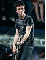 Johnny Marr performs with Modest Mouse at Lollapalooza. Click image to expand.