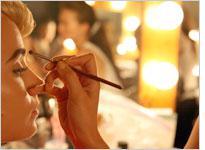 A makeup artist. Click image to expand