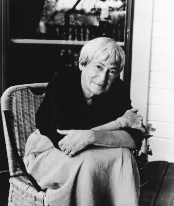 Author Ursula K. Leguin.