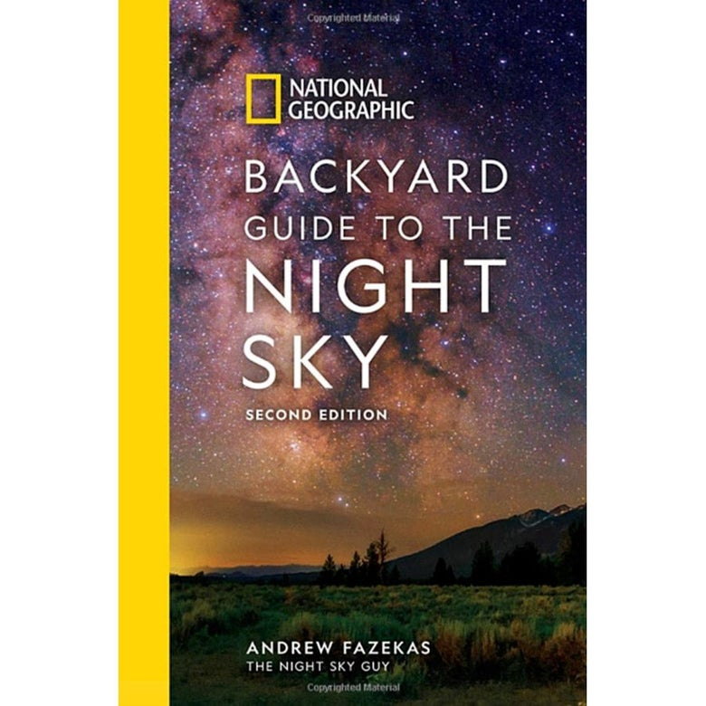 The cover of Backyard Guide to the Night Sky.