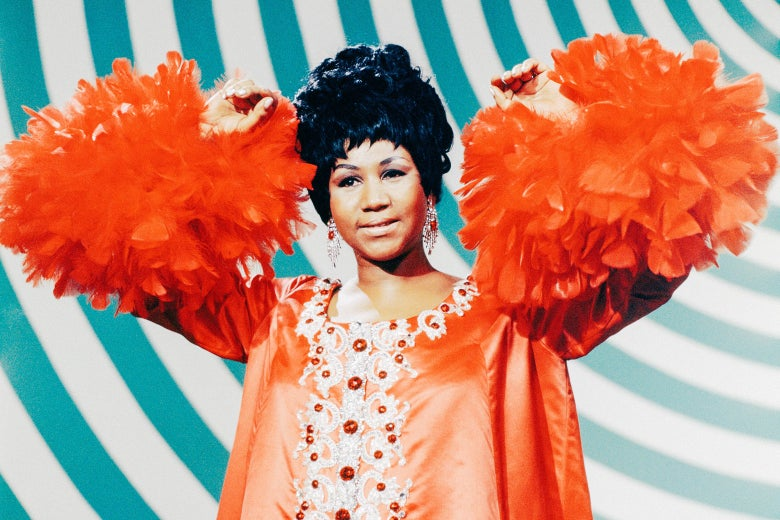 Aretha Franklin on The Andy Williams Show which aired May 4, 1969.