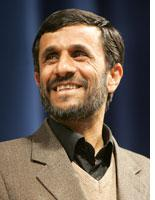 Iranian President Mahmoud Ahmadinejad         Click image to expand.