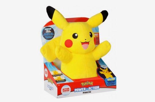 Pokémon Power Action Interactive Plush Pikachu.
