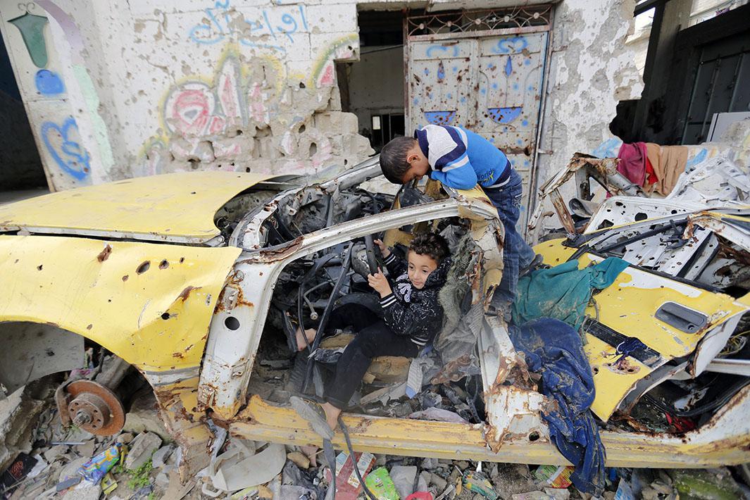 Jan. 27, 2015: Gaza City