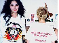 Memorial T-shirt for Brian Deneke