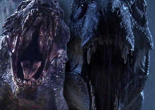 Godzilla and Jurassic Park