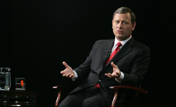 Chief Justice Roberts.