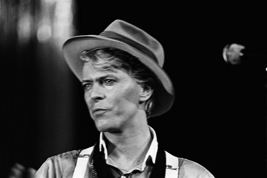 David Bowie, Hartford Civic Center, Hartford, CT, 1983 by Edward Keating