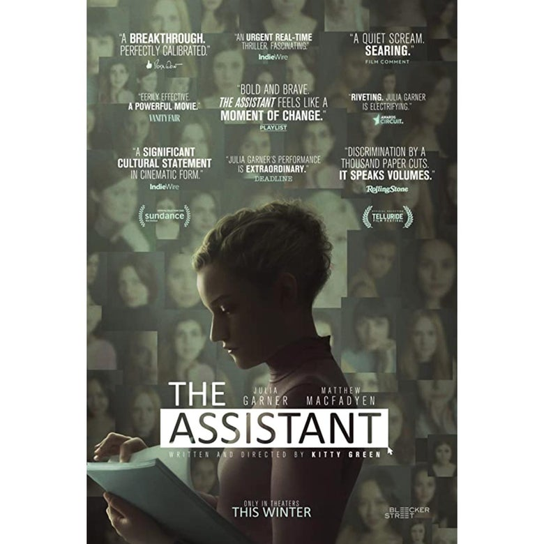 The poster for The Assistant.