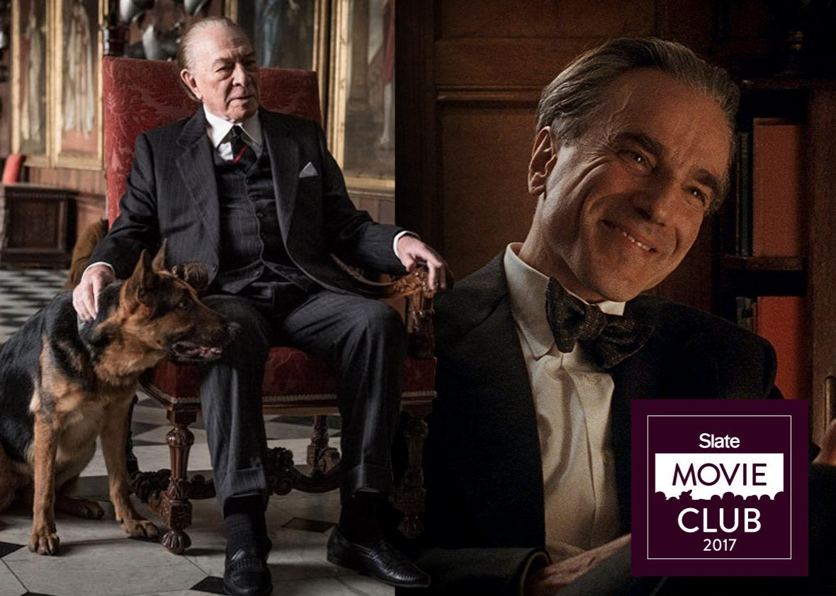 Christopher Plummer in All the Money in the World and Daniel Day-Lewis in Phantom Thread
